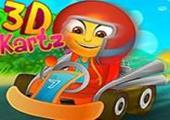 3D Yarış Arabası
