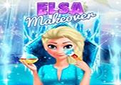 Elsa Makyaj Yapıyor