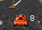 Kağıt Pixel Karting
